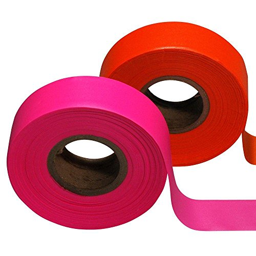 Safety Flag 1-3/16 in. x 150 ft. Vinyl Flagging Tape (12-Pack) by Safety Flag