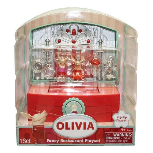 Olivia - Fancy Restaurant Play - Olivia Pig Doll