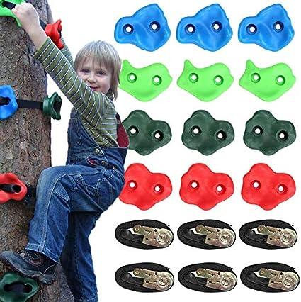APROTII - Soporte para escaladores de niños, 12 agarres de ...