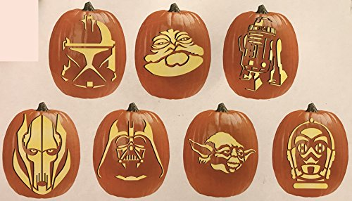 Starwars Pumpkin Carving (Star Wars Pumpkin Carving Kit with Tool Set and Patterns by)