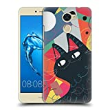 Official Kitten Rain Trumpet Cats Hard Back Case for Huawei Honor 5X / GR5