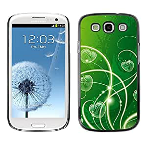 "For SAMSUNG Galaxy S3 III / i9300 / i747 , S-type Naturaleza Hermosa Forrest Verde 23"" - Arte & diseño plástico duro Fundas Cover Cubre Hard Case Cover"