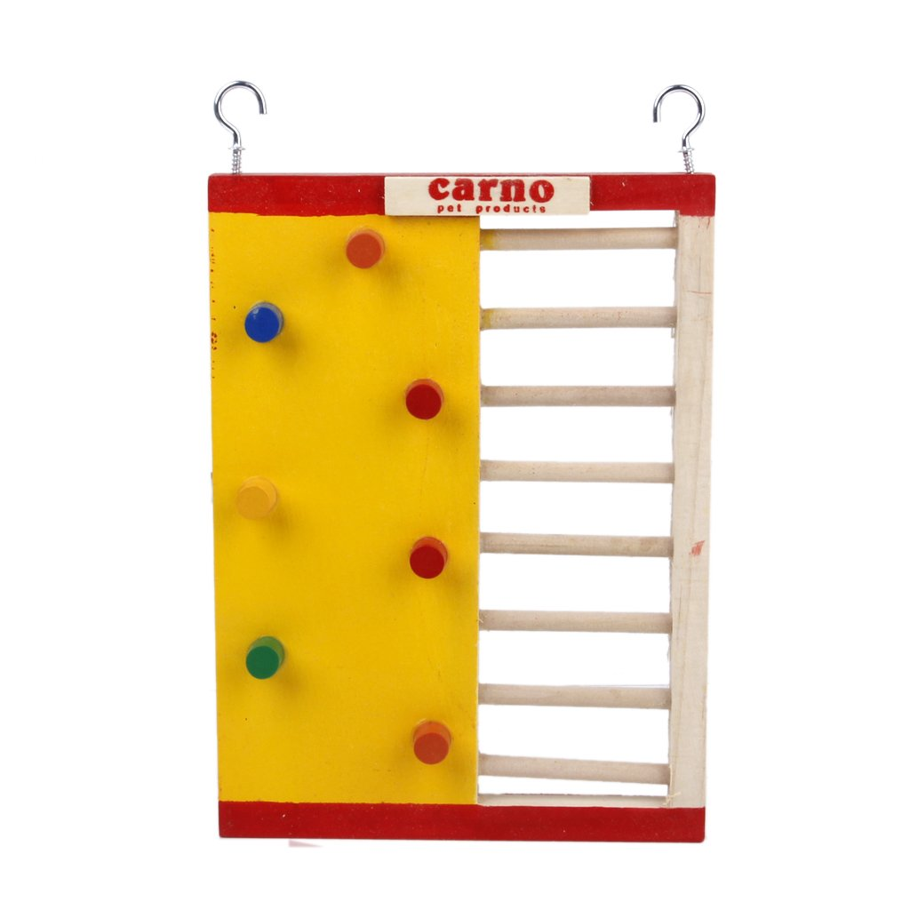 Gold Wing Wooden Funny Climbing Ladder Toy for Hamsters Mouse