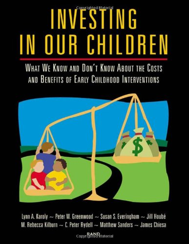 Investing in Our Children: What We Know and Don't Know About the Costs and Benefits of Early Childhood Interventions