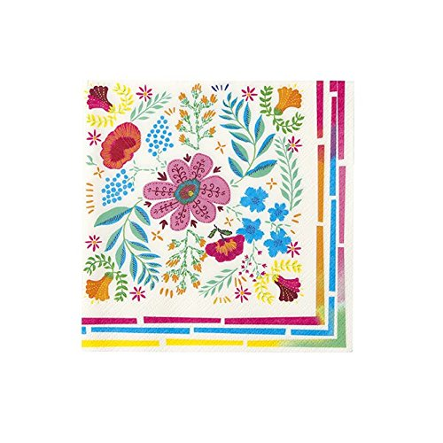 Cinco de Mayo Boho Style Chic Bohemian Decor Party Supplies Paper Napkins Pk 40