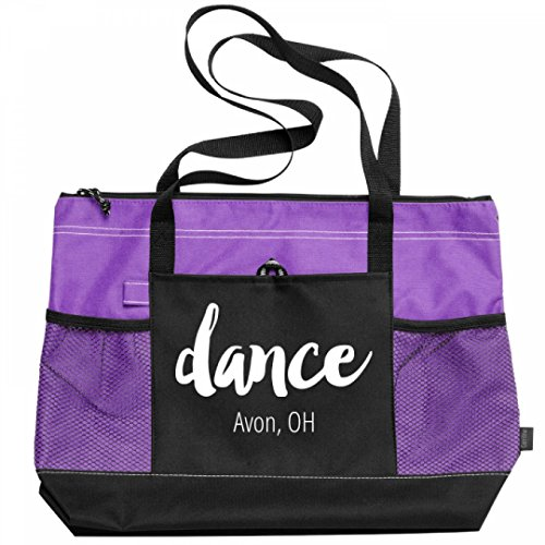 Dance Avon, OH:Gemline Select Zippered Tote Bag