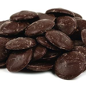 Merckens Dark Chocolate Coating Wafers Bulk 50 lbs.