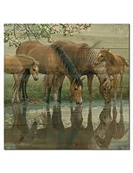 WGI Gallery WA-SSH-2424 Sweet Spring Horses Wall Art