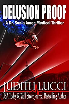 Book cover image for delusion proof: a sonia amon, md medical thriller
