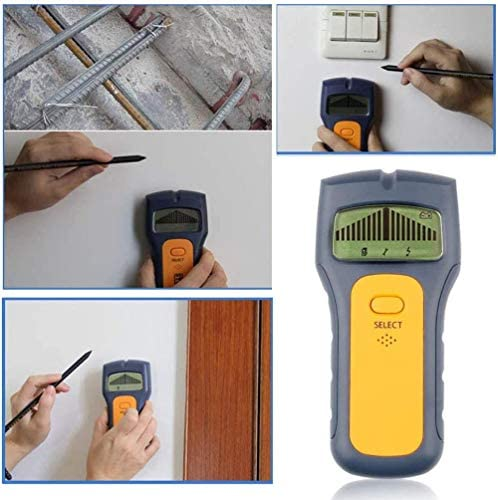 AMYD Multi-Function Stud Finder,Electronic Stud Sensor Wire Cable Wall Metal Detector Finder Home Decoration,for Wood AC Wire Metal Joist Detection