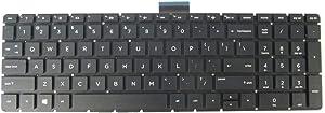 New Keyboard for HP 15-BS 15-bs020wm 15-bs070wm 15-bs091ms 15-bs095ms 250 G6 255 G6 256 G6 17t-bs000 17z-ak000 17z-ar000 17g-br000 17q-bu000 US Black