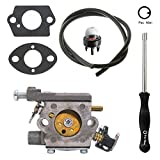 NIMTEK 309362001 with Adjustment Tool Kit for HOMELITE 35CC 38CC 42CC CHAINSAW UT-10540 UT-10542 UT-10544 UT-10546 UT-10548 UT-10549 GM10514 GM10516 GM10518