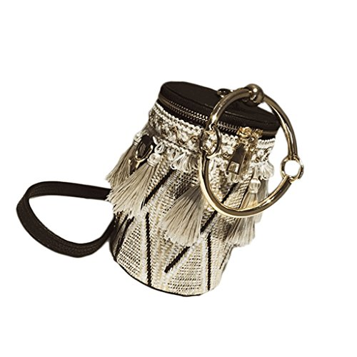 GJ Sac à bandoulière - Sac à bandoulière pour femme Sac à bandoulière portable Sac de voyage Sac de voyage Sacs pour femme (Couleur : Red) Beige