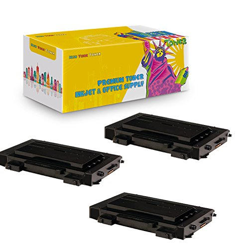 New York TonerTM New Compatible 3 Pack CLP-510D7K High Yield Toner For Samsung - CLP-510N | CLP-510NG . -- Black ()