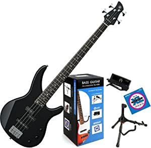 yamaha trbx174 bl trbx 174 black 4 string bass. Black Bedroom Furniture Sets. Home Design Ideas