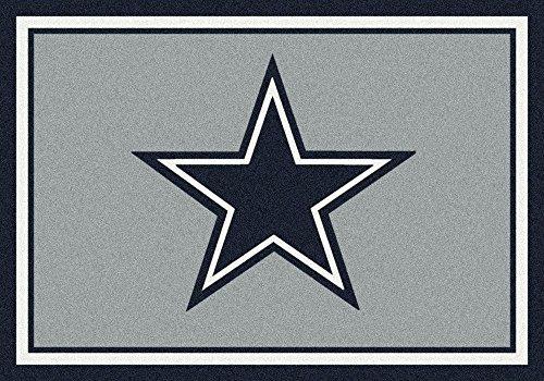 Nfl Football Team Area Rug (Dallas Cowboys NFL Team Spirit Area Rug by Milliken, 2'8