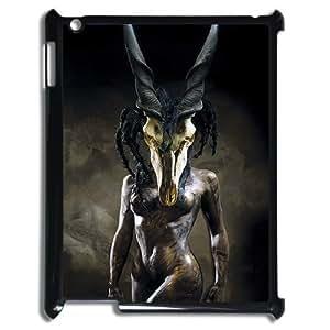 3D Skull Design IPad 2,3,4 2D Case Black Yearinspace112467