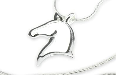 Amazon open horse head silver pendant my little pony necklace open horse head silver pendant my little pony necklace perfect birthday gift jewelry for girls teen mozeypictures Image collections