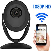 Home Security Camera, Banne 1080p HD WIFI Surveillance IP/Network Security Camera, Baby Monitor with Night Vision, Two-Way Audio, Motion Detection