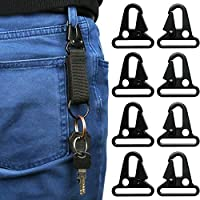 Rajendram Quick Release Sling Snap Hook Carabiner Spring Clip Keychain Buckle Outdoor Tools