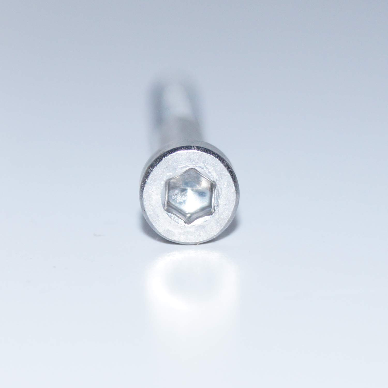 Lot de 20 vis cylindriques /à six pans creux M8X90 DIN 912 en acier inoxydable A2