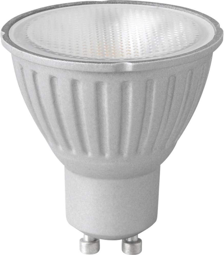 Megaman GU10 DEL 6 W PAR16 gradation 2800 K Lumière 4 Ampoule