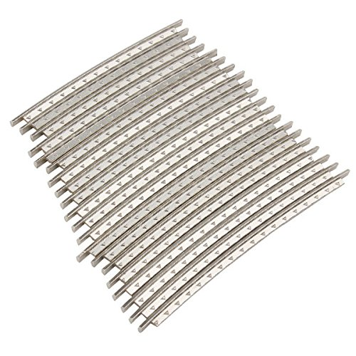Pack of 24pcs 2.2mm Width Cupronickel Fret Wire for Electric Guitar ZIJIA 9896200