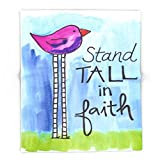 Society6 Stand Tall In Faith 88'' x 104'' Blanket