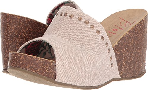 Hunter Canvas Wedge Rancher Blush Sandal Blowfish Women's SCA5qq