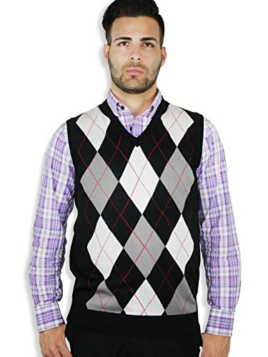 Blue Ocean Argyle Sweater (Blue Argyle Sweater Vest)