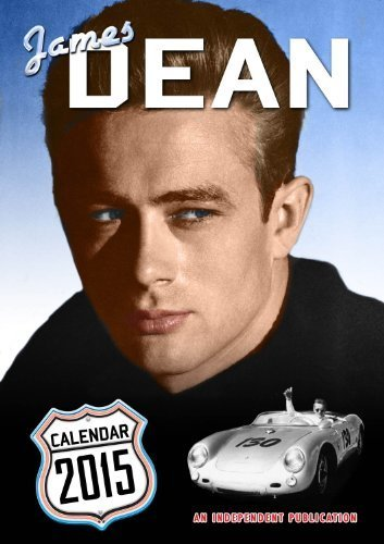 James Dean Calendar - 2015 Wall Calendars - Celebrity Calendars - Monthly Wall Calendars by Dream by MegaCalendars (2014-09-01) (2015 James Dean Calendar compare prices)