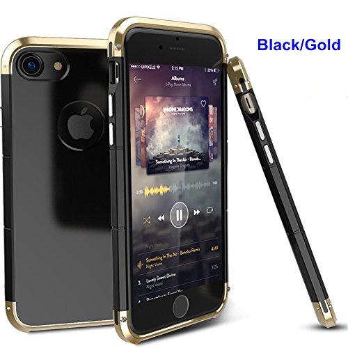 Aluminum Metal Bumper Case for Apple iPhone 7 (Gold) - 9