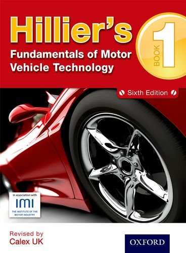 Hilliers Fundamentals of Motor Vehicle Technology 6th Edition Book 1