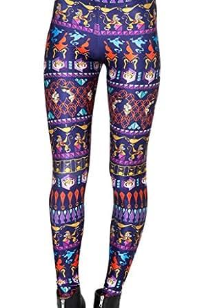 Roseate Women's 3D Pattern Leggings Running joggers Pants Tights 122