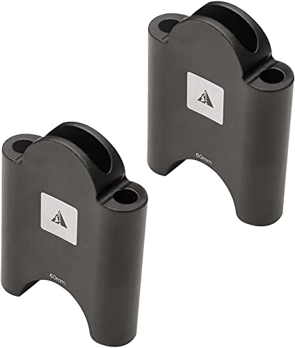Profile Designs Aerobar Bracket Riser Kit Black