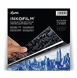 "Lumi 8.5 x 8.5"" Inkofilm Inkjet Film for Printing Custom Negatives (10 sheets)"