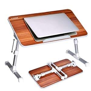 Amazon Com Avantree Quality Adjustable Laptop Table