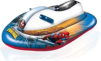 Amazon.com: Spiderman Marvel - Esquí inflable para moto de ...