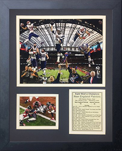 Legends Never Die NFL Framed 2016 Super Bowl Champions Team Photo Collage, (Nfl Team Photo)