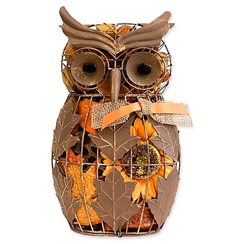 Harvest Blossom Owl Wire Potpourri (Pack of 4) by Harvest Blossom