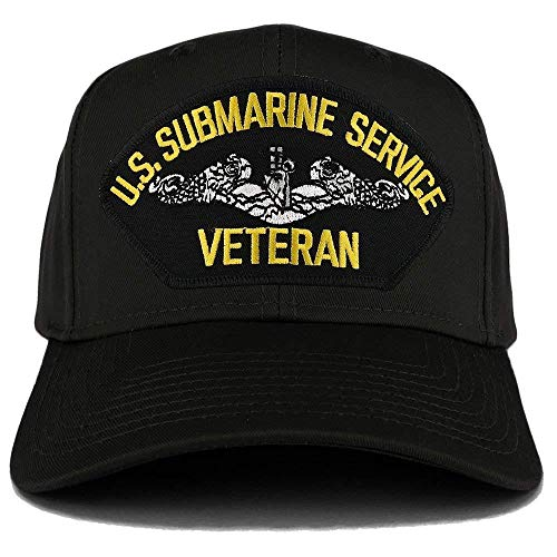 US Navy Submarine Service Veteran Ball Cap (Submarine Hats)
