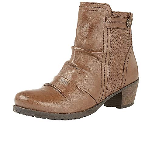 Lotus Brown Womens Frazetta Casual Boots Ankle wH0zw