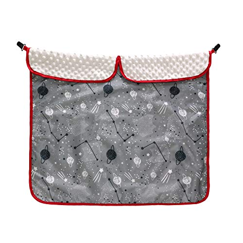 - Baby Car Seat Canopy,Waterproof Baby Stroller Cover Blankets with Clips,Minky Dot Fabric Stroller Blankets,Security Baby Blankets for Strollers and Car Seats,30''x 30''(Starry Sky)