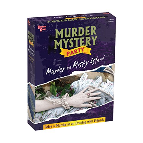 University Games Murder Mystery Party Game - Murder on Misty - Christmas Suggestions Dinner For Menu