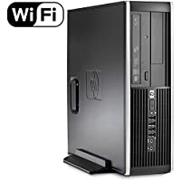 HP Elite 8100 Small Form Factor High Performance Premium Flagship Business Desktop (Intel i5-650 up to 3.46 GHz Processor, 8GB RAM, 2TB HDD, DVD, Windows 10 Professional) (Certified Refurbished)