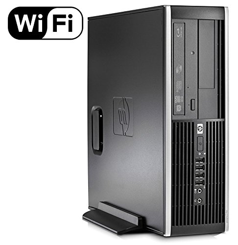 HP 8100 Desktop Computer Intel i5 3.2GHz Processor 8GB Memory 1TB HDD Genuine Windows 10 Professional (Certified Refurbished)