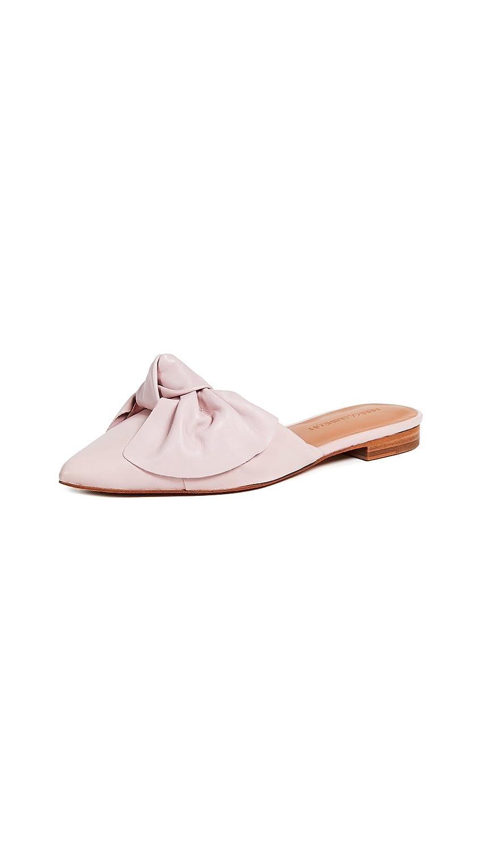 Rebecca Minkoff Women's Alexis Bow Point Toe Flats B07B2BNPL4 9.5 B(M) US|Pink