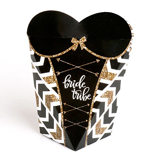 (Bride Tribe - Bachelorette Party Favors - Gift Favor Boxes for Women - Set of 12)