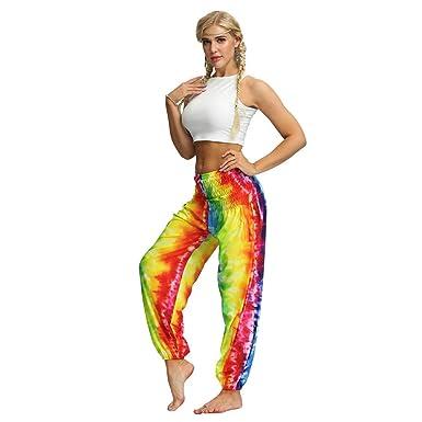 LANSKIRT Mujer Yoga Pantalones Anchos Unisex Leggings ...