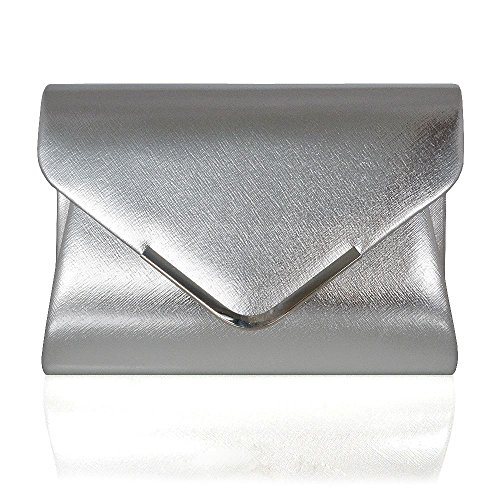 Glam Metallic Clutch - 2